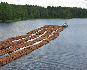 Timber-rafting-North-Karelia-Finland2